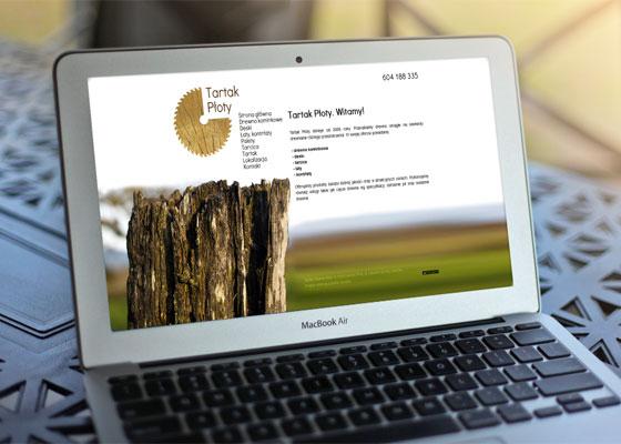 Portfolio stron internetowych: Tartak Płoty